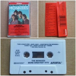 more monkees greatest hits cassette